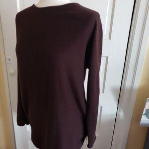 Michael Kors Side-Zip Tunic Sweater